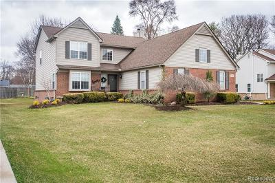 Wixom Single Family Home Contingent - Financing: 1934 Palmer Dr