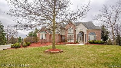 Plymouth Single Family Home For Sale: 49991 Fuller Crt Crt