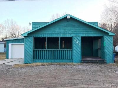 Single Family Home For Sale: 751 E Saginaw Rd
