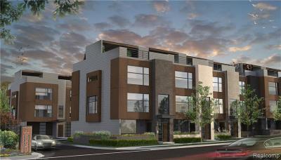 Northville Condo/Townhouse For Sale: 109 N Center Cv