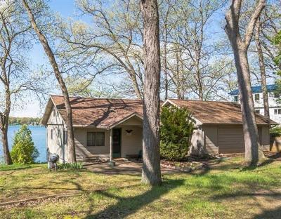 Grass Lake Single Family Home Contingent - Financing: 4810 Clear Lake Shore