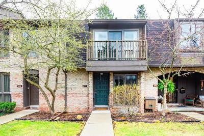Ann Arbor Condo/Townhouse For Sale: 672 Greenhills Dr