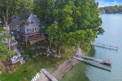Brighton Single Family Home For Sale: 4036 Clifford Rd