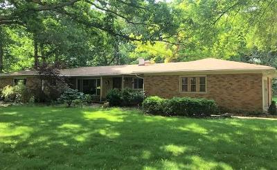 Ann Arbor Single Family Home For Sale: 5253 Pratt Rd