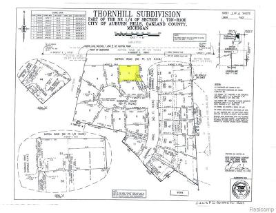 Residential Lots & Land For Sale: 4497 Thornhill Dr