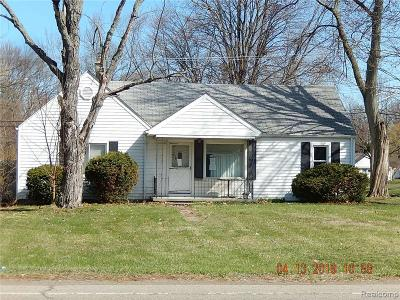 Single Family Home For Sale: 24514 Wick Rd