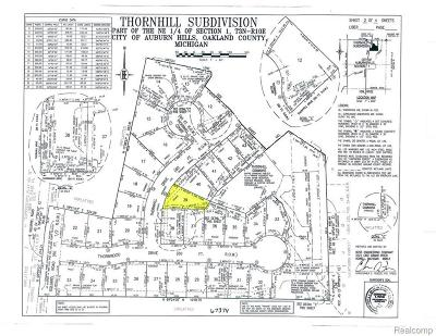 Residential Lots & Land For Sale: 4430 Thornhill Dr