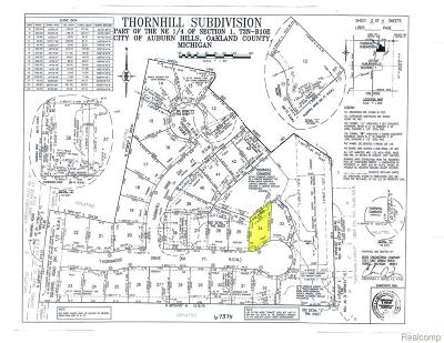 Residential Lots & Land For Sale: 3633 Thornwood Dr