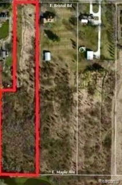 Residential Lots & Land For Sale: E Bristol Rd
