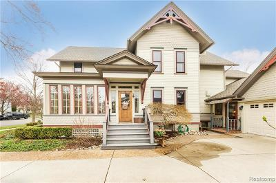 Northville Single Family Home For Sale: 124 High St