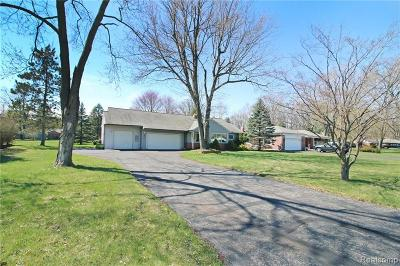 Livonia Single Family Home Contingent - Financing: 17251 Mayfield St NW