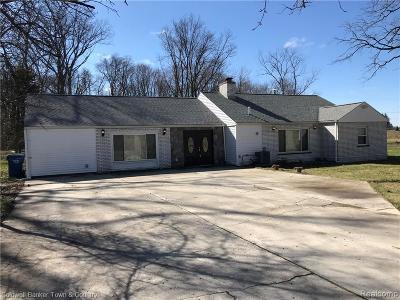 Ann Arbor Single Family Home For Sale: 341 Payeur Rd