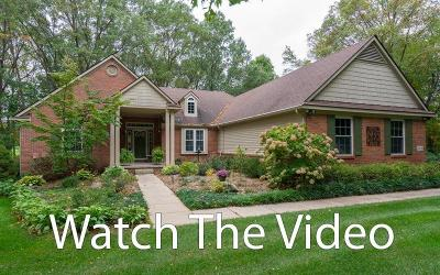 Chelsea Single Family Home For Sale: 13708 W Quail Hollow Ct