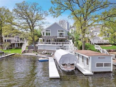 Lake Orion Single Family Home For Sale: 515 Bellevue Ave