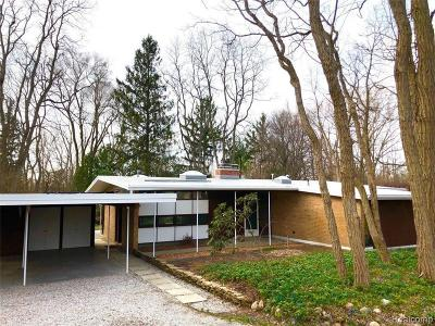 Ann Arbor Single Family Home For Sale: 4081 E Huron River Service Dr