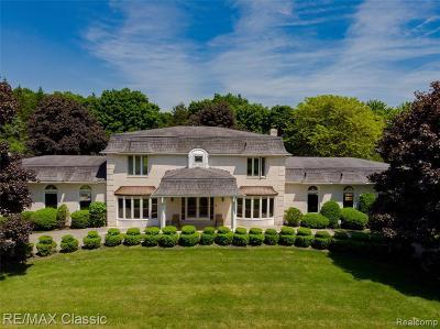 Canton Single Family Home For Sale: 3750 Napier Rd