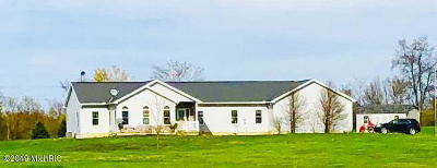 Camden MI Single Family Home For Sale: $249,900
