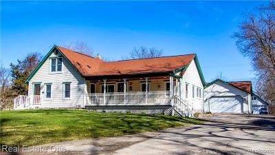 Milford Single Family Home For Sale: 1383 E Dawson Rd