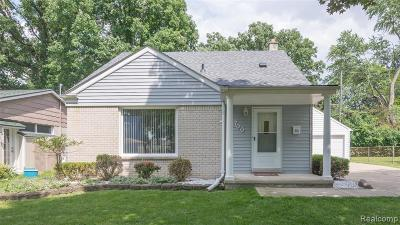 Plymouth Single Family Home For Sale: 700 Parkview Dr