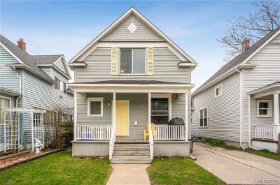 Port Huron Add Single Family Home For Sale: 1116 Stanton St