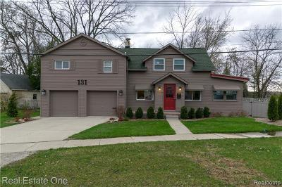 Lake Orion Single Family Home For Sale: 131 S Andrews St