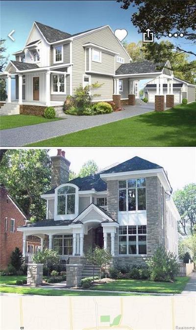 Northville Single Family Home For Sale: 713 Center