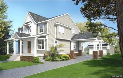 Northville Single Family Home For Sale: 711 N Center St