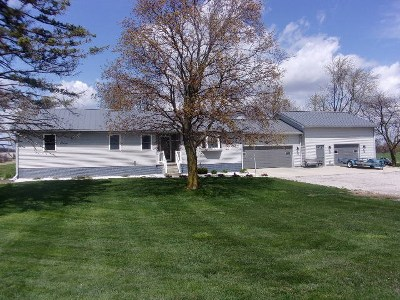 Hillsdale County Single Family Home For Sale: 14000 Hudson