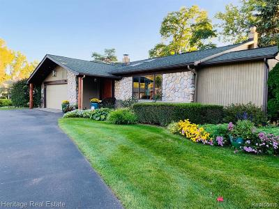 Lake Orion Single Family Home For Sale: 1175 Arbroak Way
