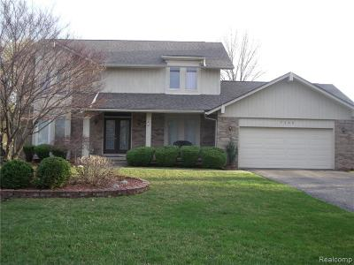 West Bloomfield Single Family Home For Sale: 7200 Silver Leaf Ln