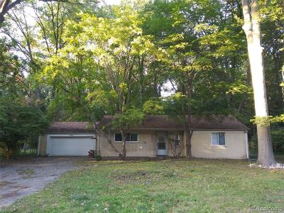 Southfield Single Family Home For Sale: 20630 Woodburn Dr