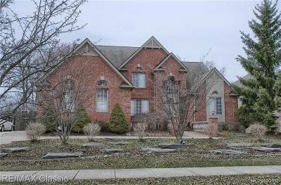 West Bloomfield Single Family Home For Sale: 5562 Hampshire Dr