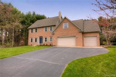 Brighton Single Family Home For Sale: 7155 Campbell Mills Crt