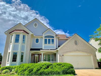 Ann Arbor Single Family Home For Sale: 2308 Moss Rose Ct