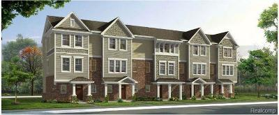 Wixom Condo/Townhouse For Sale: 3193 Chambers West