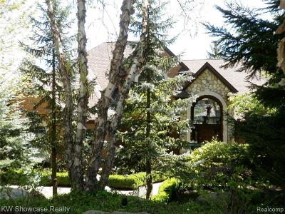 West Bloomfield Single Family Home For Sale: 6639 Minnow Pond Dr
