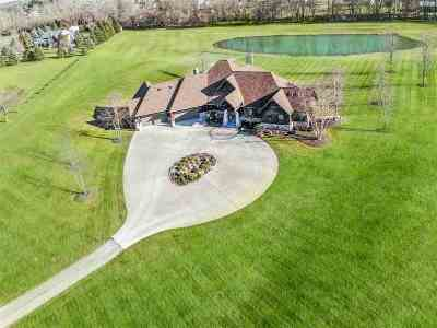 Jackson County, Lenawee County, Hillsdale County Single Family Home For Sale: 500 Silver Creek Dr