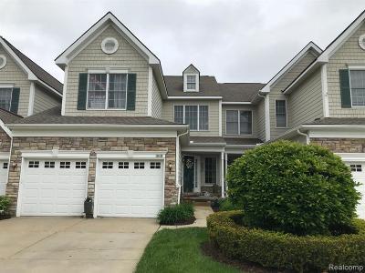 Novi Condo/Townhouse For Sale: 26416 Fieldstone Dr