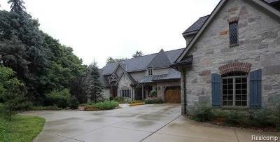 Farmington Hill Single Family Home For Sale: 36663 Howard Rd