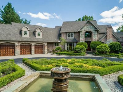 Novi Single Family Home For Sale: 46000 W 11 Mile Rd