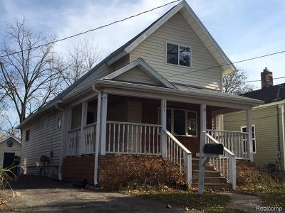 Lansing Single Family Home For Sale: 121 Allen St