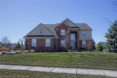 South Lyon Single Family Home For Sale: 23773 Bayberry Crt