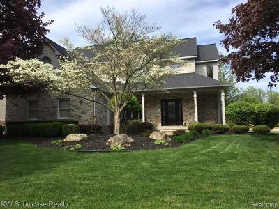 Wixom Single Family Home For Sale: 1410 Woodbridge Ln