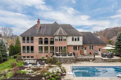 Northville Single Family Home For Sale: 47890 Ravello Crt