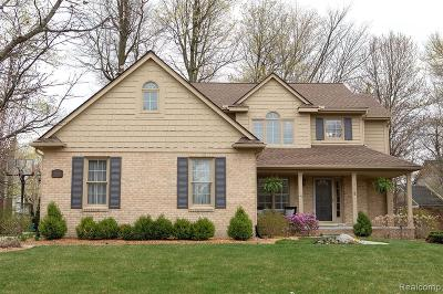 Novi Single Family Home For Sale: 23229 Mystic Forest Dr