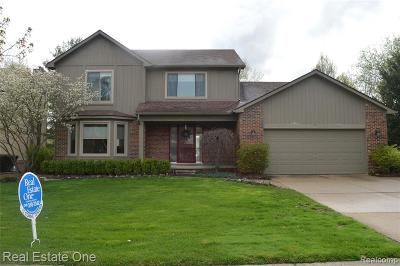 Wixom Single Family Home For Sale: 2175 Millstream Dr