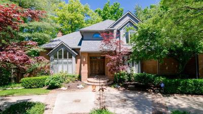 Ann Arbor Single Family Home For Sale: 3108 W Dobson Pl