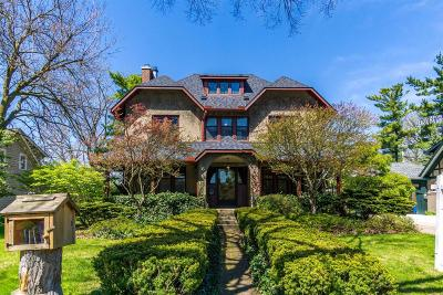 Ann Arbor Single Family Home For Sale: 6 Geddes Hts