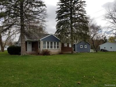 Webberville Single Family Home For Sale: 5108 E Grand River Rd Ave