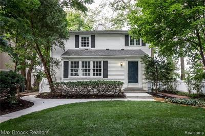 West Bloomfield Single Family Home For Sale: 3470 Middlebelt Rd